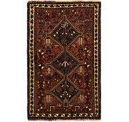 Link to 110cm x 173cm Ghashghaei Persian Rug