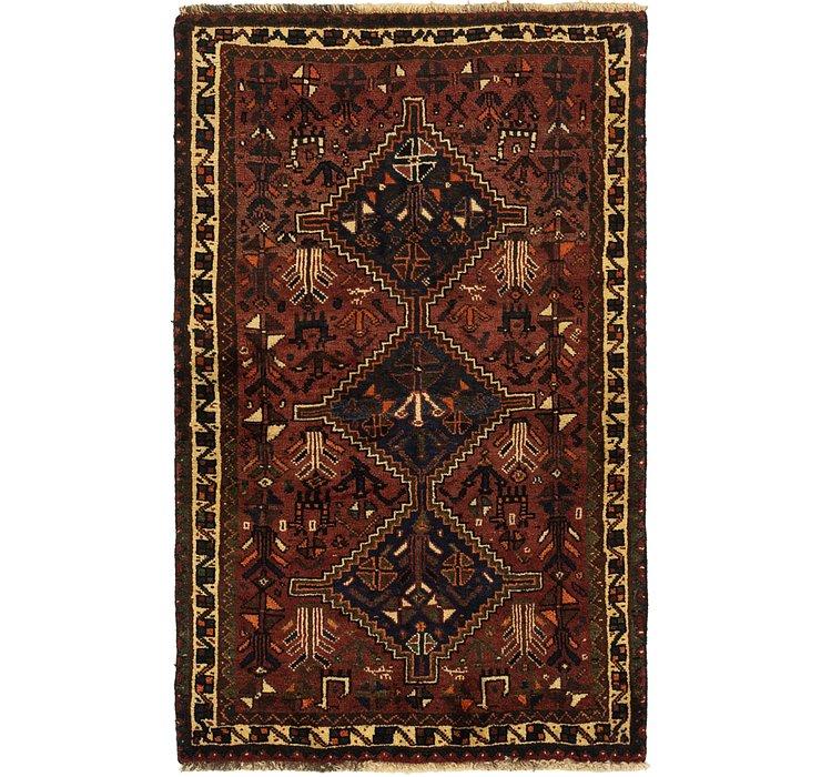 3' 7 x 5' 8 Ghashghaei Persian Rug