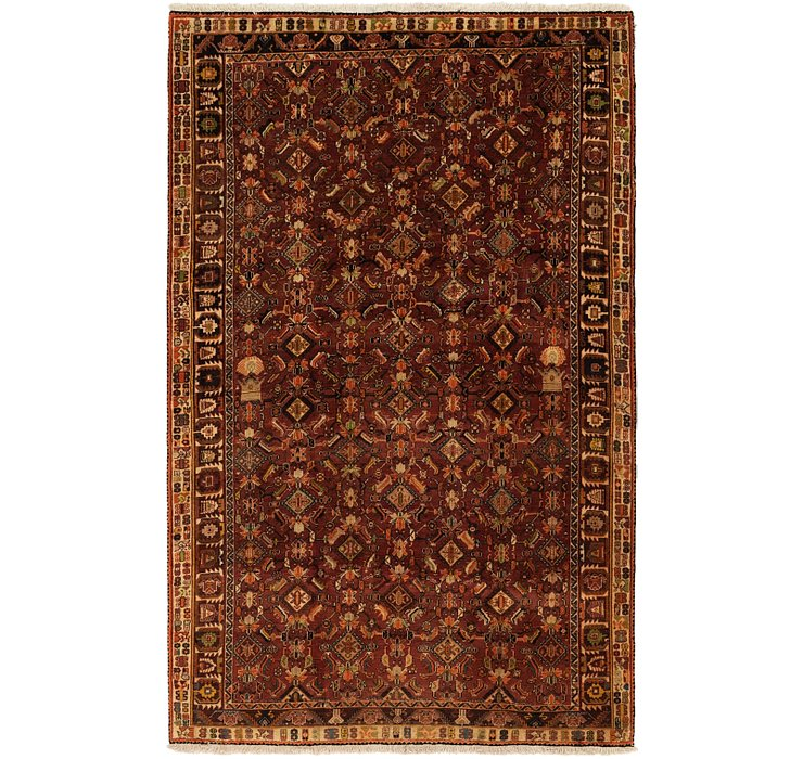 5' 2 x 8' 2 Ghashghaei Persian Rug