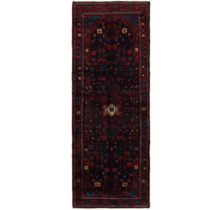 117cm x 330cm Zanjan Persian Runner Rug