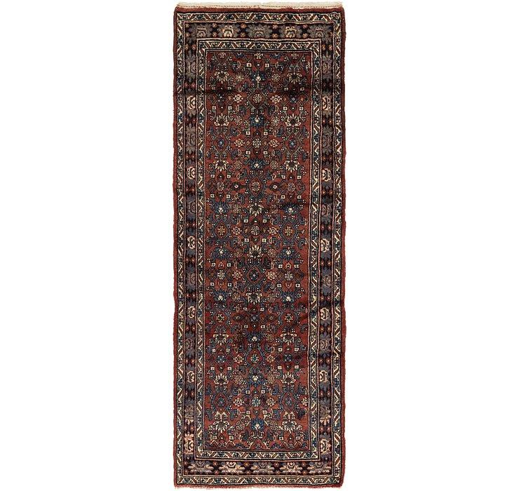 3' 4 x 9' 8 Shahsavand Persian Runn...