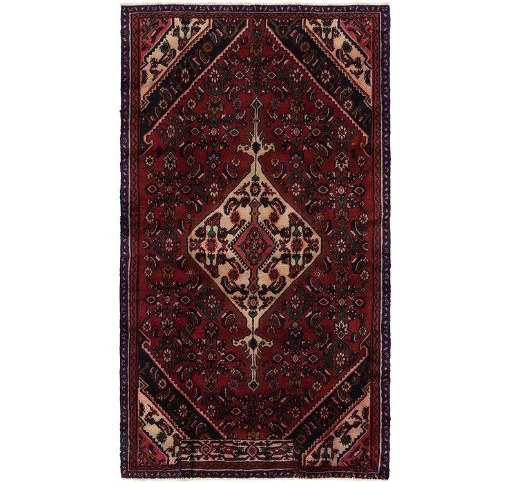 4' 6 x 8' 4 Hamedan Persian Rug