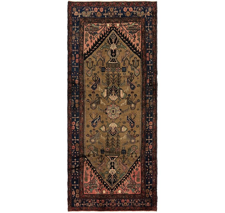 4' x 9' 9 Koliaei Persian Runner ...