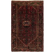 Link to 3' 8 x 5' 9 Hossainabad Persian Rug