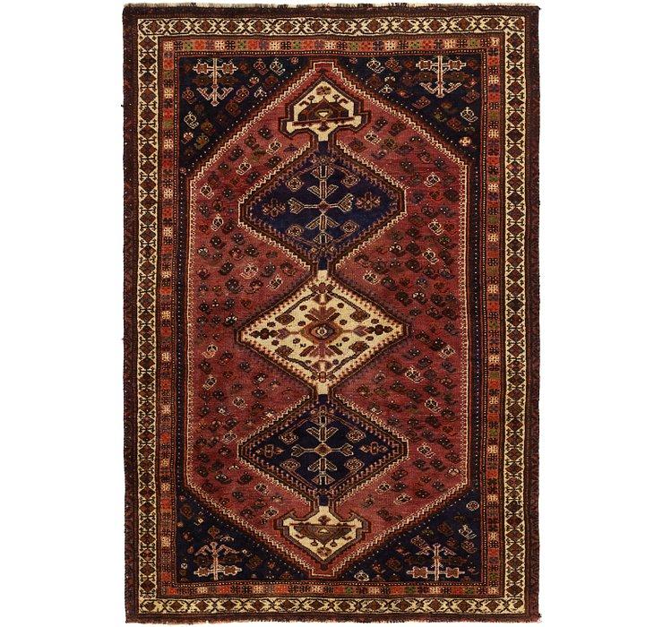 5' x 8' 2 Ghashghaei Persian Rug