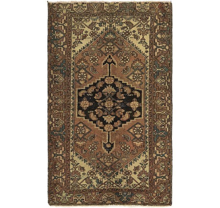 3' 10 x 6' 6 Hossainabad Persian Rug