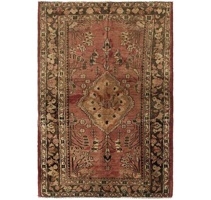 3' 5 x 5' 3 Hamedan Persian Rug