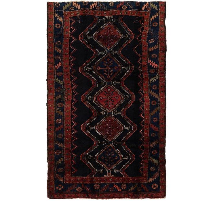 4' 4 x 7' 9 Chenar Persian Runner Rug