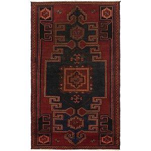 Link to 105cm x 188cm Zanjan Persian Rug item page