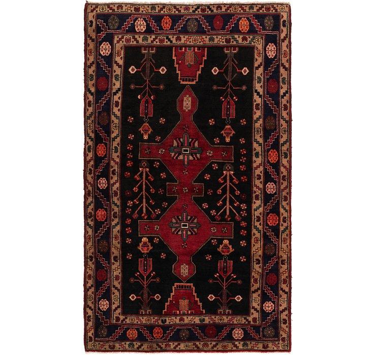5' x 8' 9 Hamedan Persian Rug