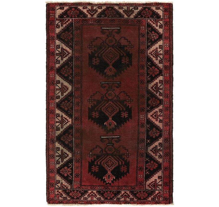 3' 10 x 6' 7 Ferdos Persian Rug