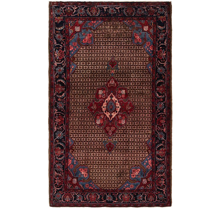 5' 3 x 9' Songhor Persian Rug