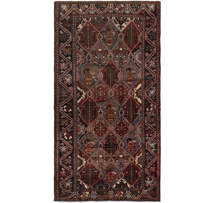 5' 2 x 10' Shahsavand Persian Runn...
