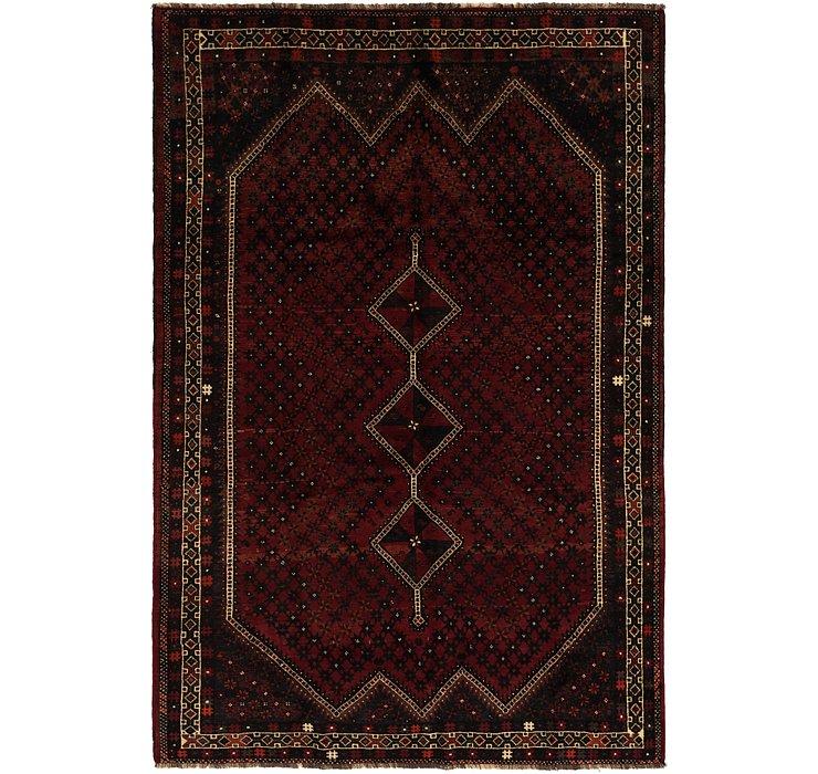 7' x 10' 5 Ghashghaei Persian Rug