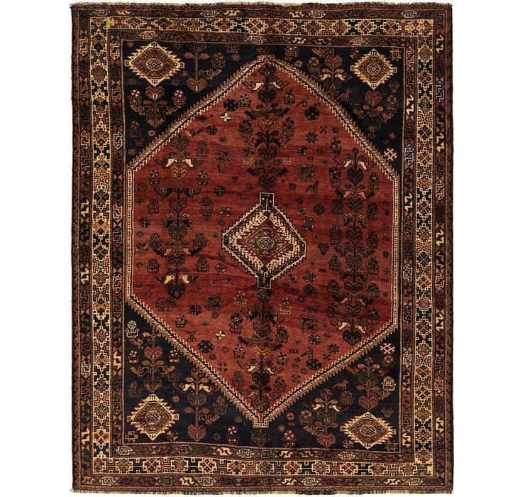7' 4 x 9' 6 Ghashghaei Persian Rug