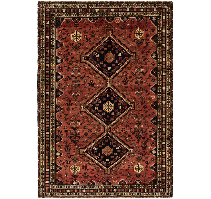 6' 8 x 9' 8 Ghashghaei Persian Rug
