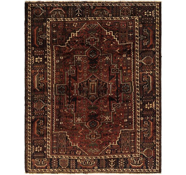 6' 4 x 8' Ghashghaei Persian Rug