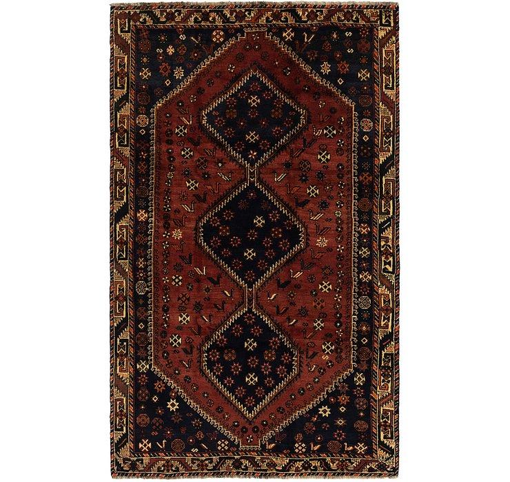 5' 6 x 9' 2 Ghashghaei Persian Rug
