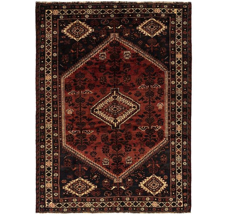 7' x 9' 9 Ghashghaei Persian Rug