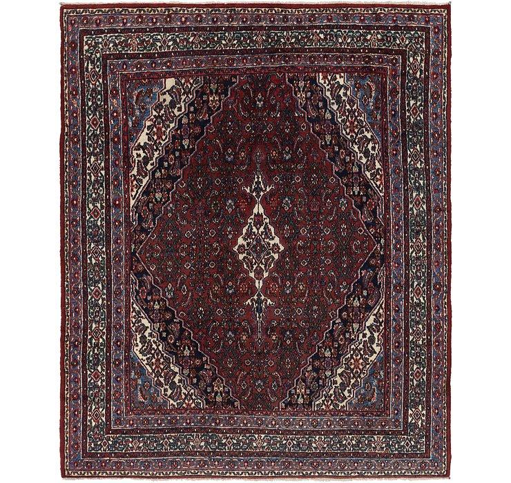 8' x 9' 8 Hamedan Persian Rug