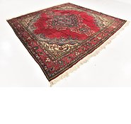 Link to 9' 4 x 9' 7 Tabriz Persian Square Rug