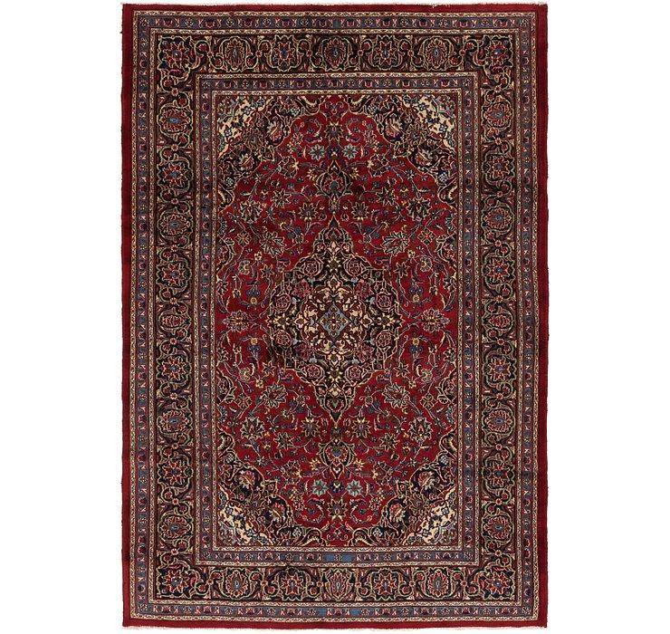 6' 5 x 9' 9 Mashad Persian Rug