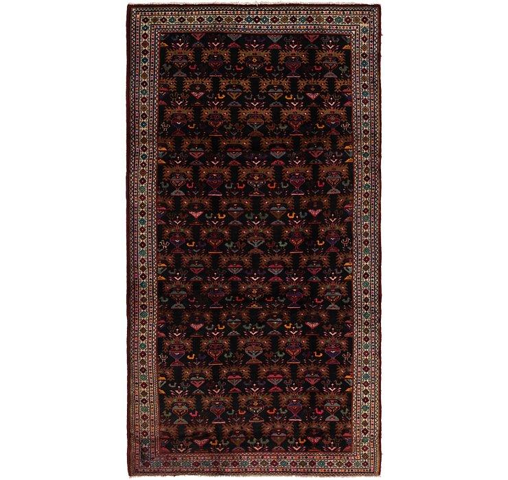 HandKnotted 5' 3 x 10' 3 Shahsavand Persian Runn...