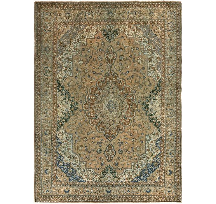 10' 2 x 14' 2 Tabriz Persian Rug