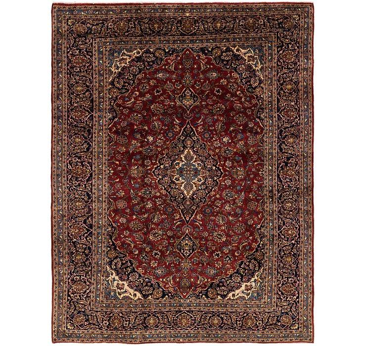 8' 8 x 11' 4 Kashan Persian Rug