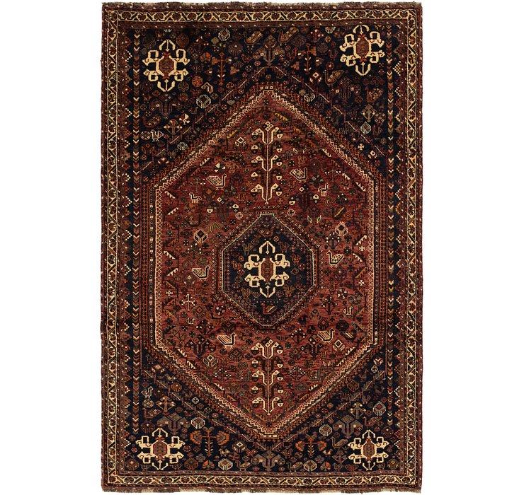 5' 7 x 8' 7 Ghashghaei Persian Rug