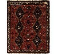 Link to 5' 5 x 6' 9 Ghashghaei Persian Rug