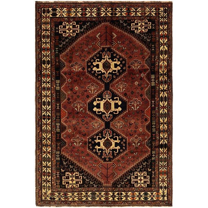 6' 5 x 9' 10 Ghashghaei Persian Rug