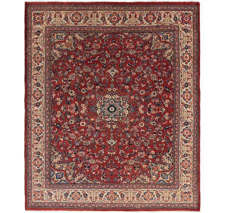 10' x 12' 5 Sarough Persian Rug
