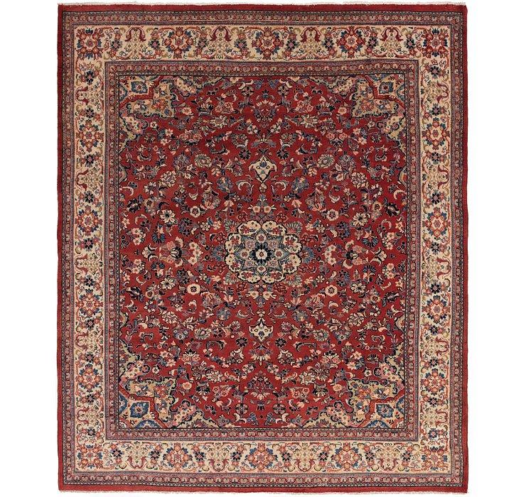 10' x 12' 5 Sarough Persian Rug