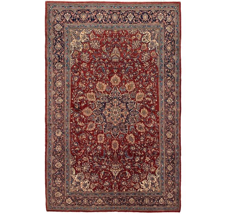 8' 6 x 13' 4 Sarough Persian Rug