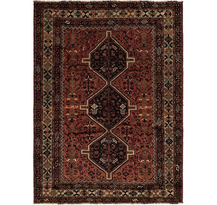 7' x 9' 10 Ghashghaei Persian Rug