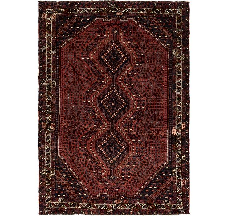 6' 8 x 9' 6 Ghashghaei Persian Rug