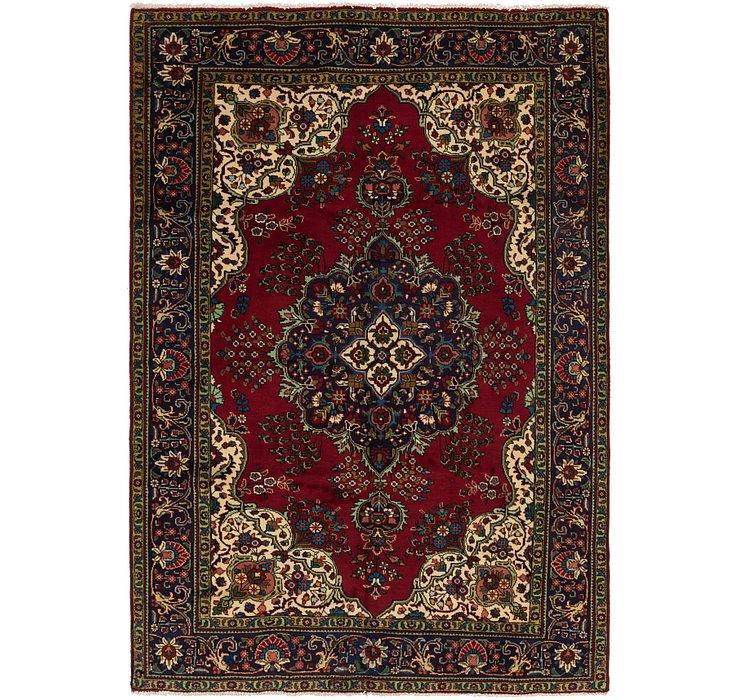 6' 6 x 9' 4 Tabriz Persian Rug