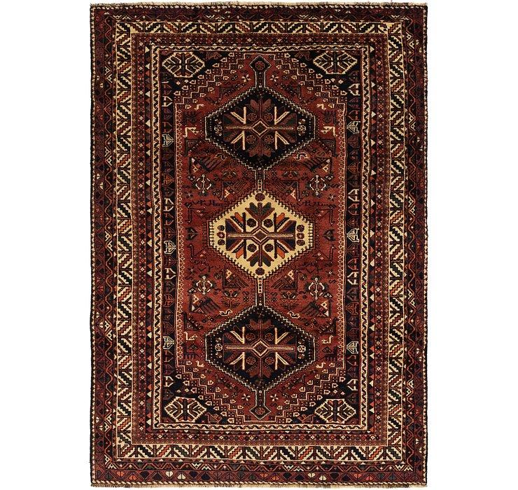 6' 3 x 9' 5 Ghashghaei Persian Rug