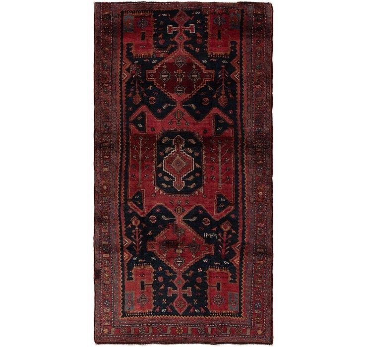 4' 4 x 9' 3 Sirjan Persian Runner Rug