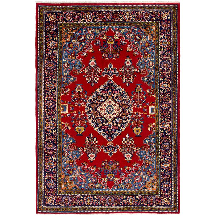 6' 10 x 10' 9 Golpayegan Persian Rug
