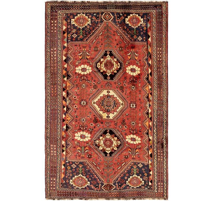 5' 10 x 9' 5 Ghashghaei Persian Rug