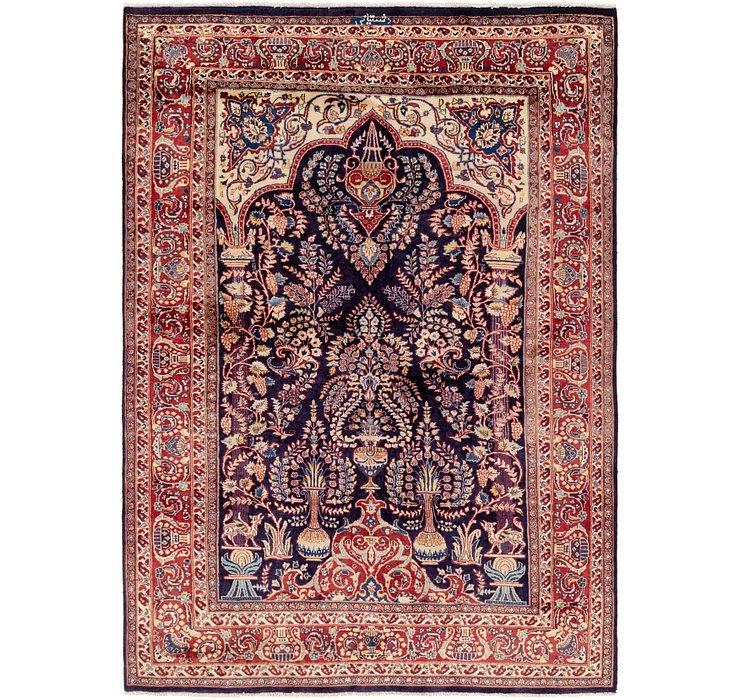 6' 4 x 9' Kashmar Persian Rug