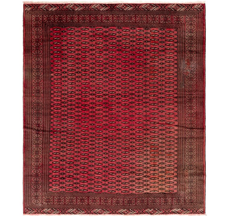 8' 2 x 9' 8 Torkaman Persian Rug