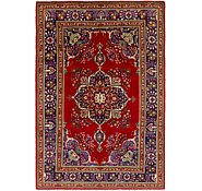 Link to 203cm x 292cm Tabriz Persian Rug