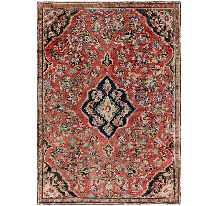 7' 6 x 11' Meshkabad Persian Rug
