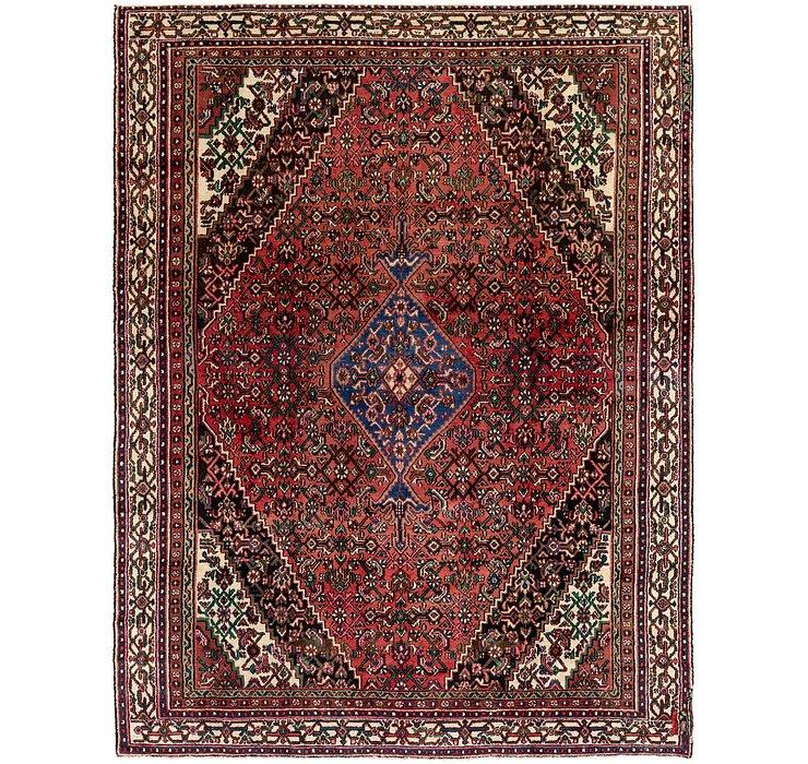 8' x 10' 8 Hamedan Persian Rug