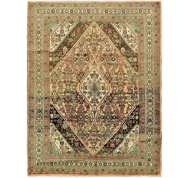 7' 4 x 10' Hamedan Persian Rug