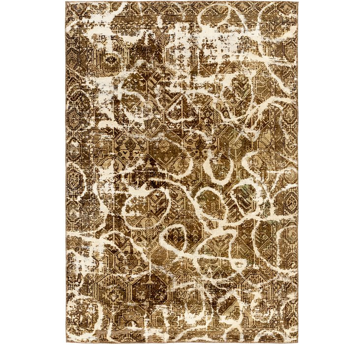 5' 10 x 8' 10 Ultra Vintage Persian Rug