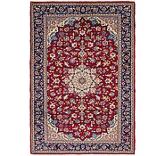 Link to 220cm x 318cm Isfahan Persian Rug